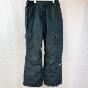 Karbon Sz 10 Boys Snowboard Pants Junior Black